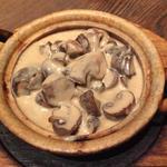 マッシュルームの西京味噌クリーム煮