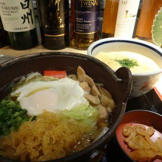 小鍋焼きうどん(つるや)