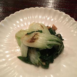 広東白菜の炒め(蓮香 (レンゲ))