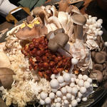 キノコカレー鍋