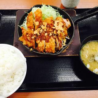 鉄板からテキ定食(からやま 松戸古ヶ崎店 )
