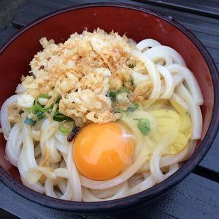 釜玉うどん(大)(松家製麺 )