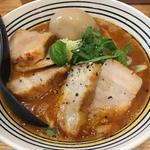 トマトロトロチャーシュー麺(極麺 青二犀 (ゴクメン アオニサイ))