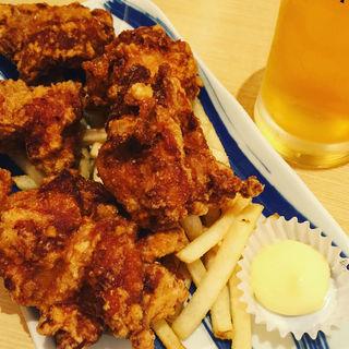 鶏の唐揚 小盛5個(博多ふくいち 八重洲店 )