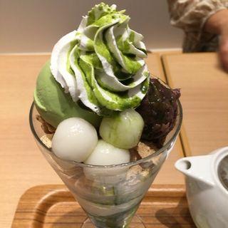 抹茶白玉パフェ(ナナズ グリーンティー ららぽーとEXPOCITY店 (nana's green tea))