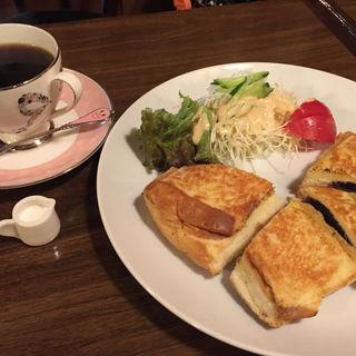 ホットサンドセット(喫茶 蔵 (きっさ くら))