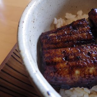 小さなうな丼のお膳(otonari )