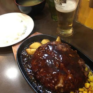 ハンバーグ デミグラスソース(三浦のハンバーグ 御茶ノ水店 (ミウラノハンバーグ))