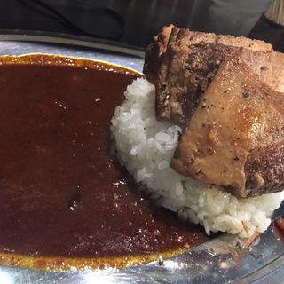 チャーシュートッピングカレー(カレー コンドル (curry condor))