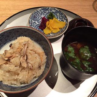 松茸御飯(懐食みちば)