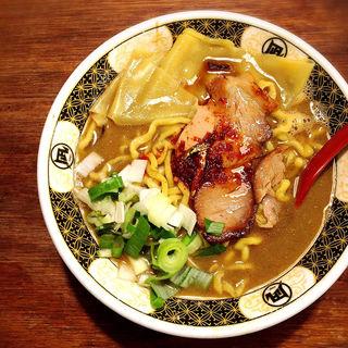 ローストポーク煮干ラーメン(ラーメン凪 豚王 渋谷本店)