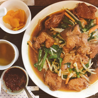 数量限定山形庄内産豚レバーのレバニラ炒め定食(kei楽 (ケイラク))