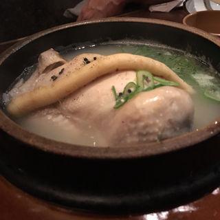 samgyetang (Ginseng Chicken Soup )   サムゲタン 삼계탕(さんぱ家 (サンパヤ))