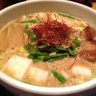 濃厚味噌らぁ麺(新潟濃厚味噌 弥彦)