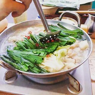 特製 しおもつ鍋(炭火居酒屋清水Aburi)