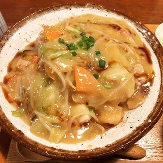 皿うどん(九州料理 居酒屋 かてて 茅場町店)