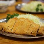 ロースカツ定食(とんかつ 万平 (とんかつ・まんぺい))