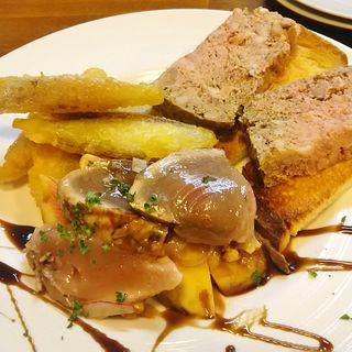 前菜3種盛り(ブラッスリードロー (Brasserie de l'eau))