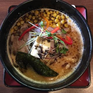 黒マー油バターコーン味噌鶏そば(葵 )