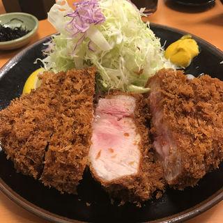 リブロースカツ定食(とんかつ大門 檍 (トンカツダイモン あおき))