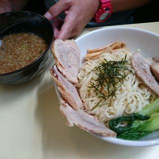 醤油つけ麺 ( 中盛 ) + チャーシュー(らーめん めん吉 新松戸店 )
