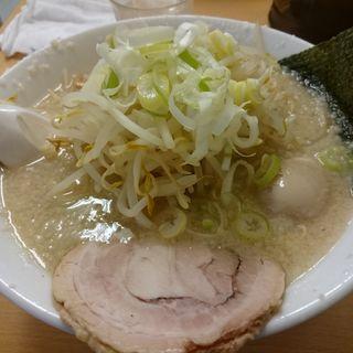 塩ラーメン + もやし + 玉子(かづ )