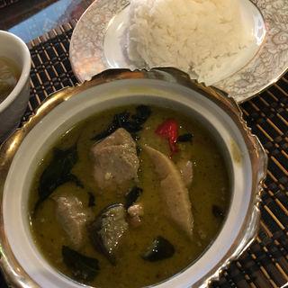 グリーンカレー(タイ・アヨタヤ・レストラン (Thai Ayothaya Restaurant))