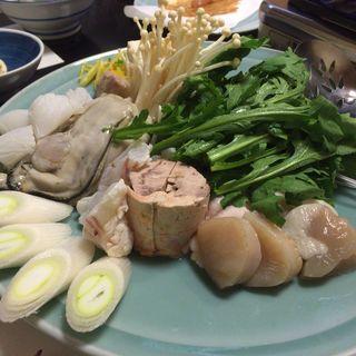 海鮮寄せ鍋(宇和島)
