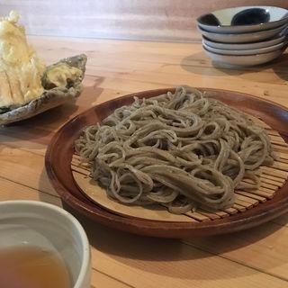 穴子天ざる蕎麦(蕎房 猪口屋 (チョコヤ))