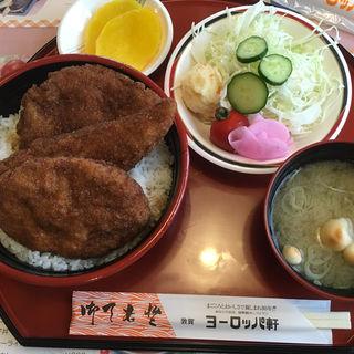 ミックス丼セット(敦賀ヨーロッパ軒 本店 )