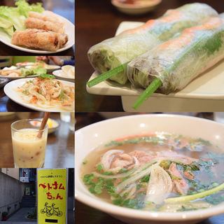 Aランチセット(ベトナムちゃん (【旧店名】Saigon×Saigon サイゴンサイゴン))