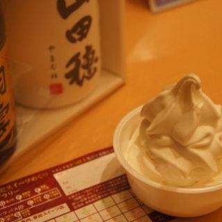酒蔵甘酒ソフトクリーム(白鶴御影ミューズ )