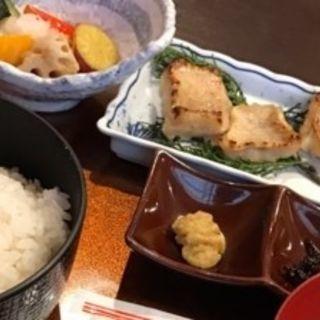 甘鯛西京焼きと焼き野菜揚げ出し御膳(別邸 福の花 )