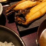 日替わり定食(サバの塩焼き)