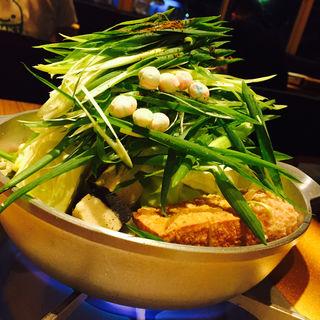 極上黒毛和牛ホルモンの京風白味噌鍋(京家 KARASUMA (キョウヤ カラスマ))