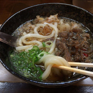 牛スジかすうどん(かすうどん山本 2号店 )