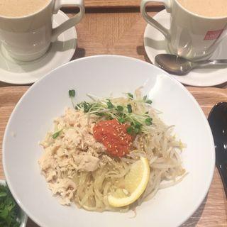 明太豆乳乾麺(春水堂 天神地下街店)