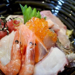 上海鮮丼(橋立海産センター瑞松苑)