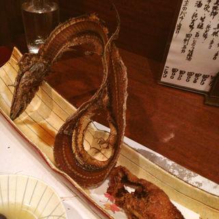 太刀魚唐揚げ(たちじゅう園 )
