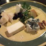 イタリア産チーズの盛り合わせ