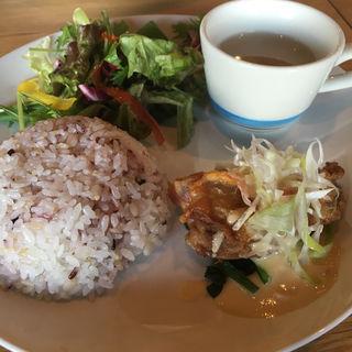 鶏肉の柚子ソースランチ(CAFE the CORNER)