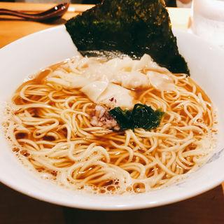 海老ワンタン蕎麦(ウメノキスズメ)