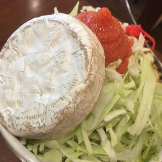 めんたいカマンベールチーズもんじゃ(緒駕多 (おがた))