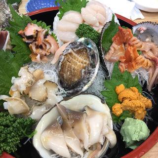 貝の盛合せ(ろばた焼き 北海)