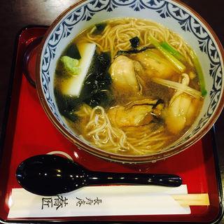牡蠣そば(長寿庵 蕎匠 (ちょうじゅあんきょうしょう))