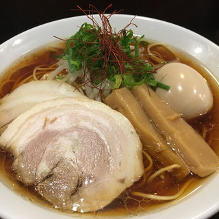 醤油ラーメン 大(麺舎 ヒゲイヌ )