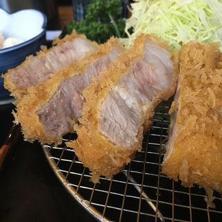 ロースかつ定食(160g)(のもと家 )