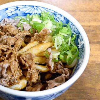 肉伊勢うどん(ちとせ )