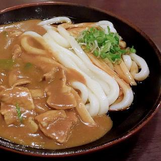 肉カレーうどん(岡田屋 (おかだや))
