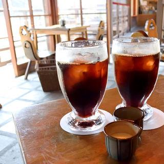 アイスコーヒー(五十鈴川カフェ)